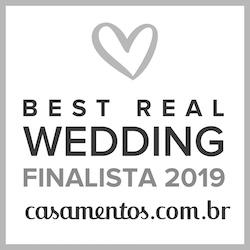 Finalista Best Real Wedding 2019 Casamentos.com.br