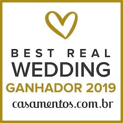 Ganhador Best Real Wedding 2019 Casamentos.com.br