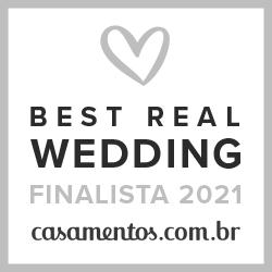 Finalista Best Real Wedding 2021 Casamentos.com.br