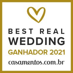 Ganhador Best Real Wedding 2021 Casamentos.com.br