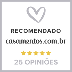 Recomendado emCasamentos.com.br