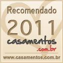 Recomendado em Casamentos.com.br