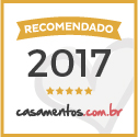 Recomendado em casamentos.com.br