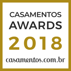 Ganhador Casamentos Awards 2018 de casamentos.com.br