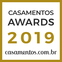 Ganhador Casamentos Awards 2019 de Casamentos.com.br
