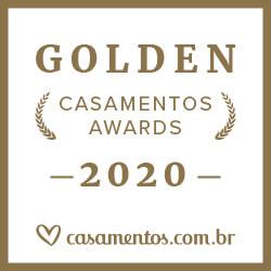 Ganhador Casamentos Awards 2020 de Casamentos.com.br