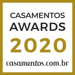Banda Única Eventos, ganhador Casamentos Awards 2020 de Casamentos.com.br