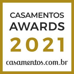 Ganhador Casamentos Awards 2021 de Casamentos.com.br